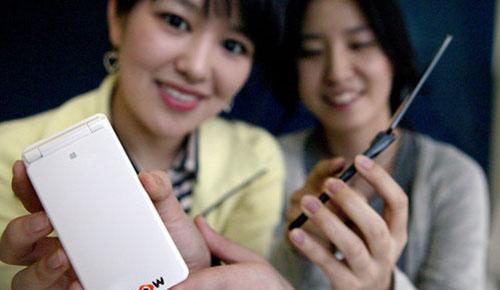 KTFT EV-W470 EVER Xslim Flip Phone