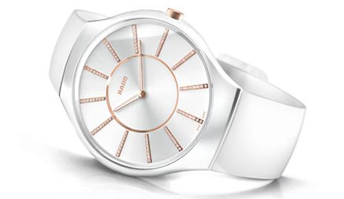 Rado True Thinline Thinnest Luxury Ceramic Lady Watch