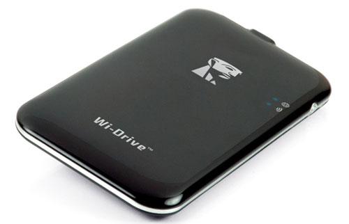 Kingston Wi-Drive Pocket Wireless Hard Drive, Expand Your ...