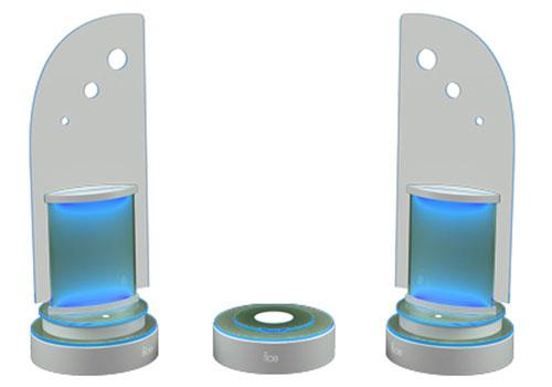 Stylish Speakers modern-stylish speakers! greensound orbis wireless glass speakers