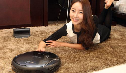 Samsung VC-RM96W Smart Tango Robot Vacuum Cleaner, Smarter!
