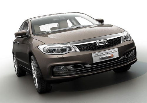 Qoros GQ3 Compact Sedan [GMS 2013]