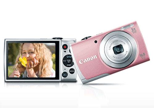 Canon-PowerShot-A2600-pink-front-rear-dandy-gadget-digital-cameras