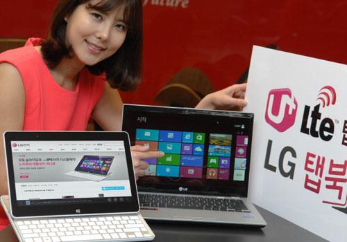 LG Z160 Tab-Book – MWC 2013