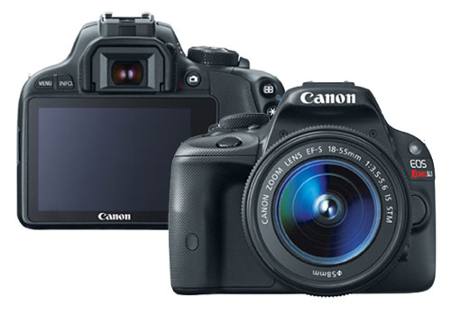 Canon EOS Rebel SL1, a world's smallest and lightest DSLR camera!
