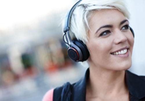 Jabra Revo wireless over-head headphone, tough and stylish!