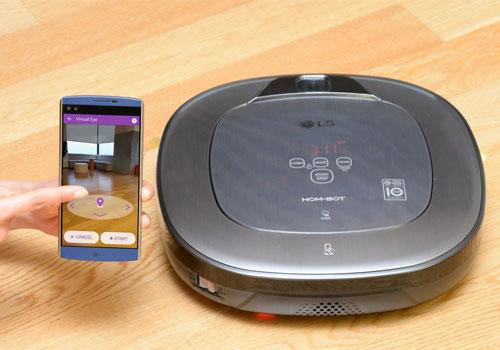 LG Hom-Bot Turbo+ Home-Joy Dandy Gadget