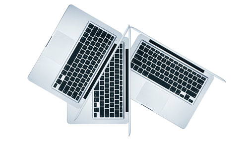 Apple_MB466LL_A_MB467LL_A_New_MacBook_Sleek_Natural_White_Front_Center_Top_Hot_Trio_Full_Body_Dandy_Gadget_Computers