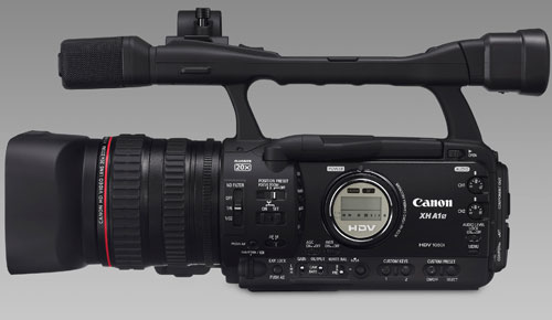 Canon_XH_A1S_Pro_HDV_Camcorder_Elegant_Black_Side_Full_Body_Dandygadget_Digital_Cameras