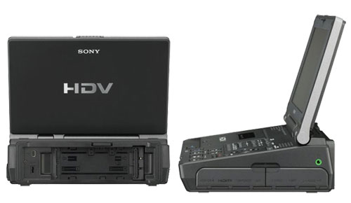Time Your Work! Sony GV-HD700 Video Walkman