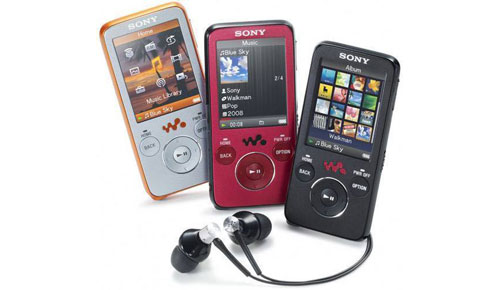 Sony NWZ-B638F Premium MP4 Player, More than Music!