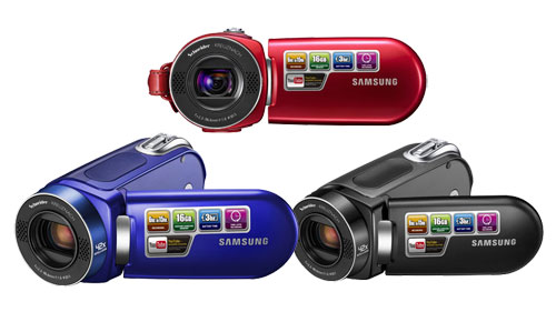 Samsung New SMX-F34, Next Generation Youtube Compatible Camcorder