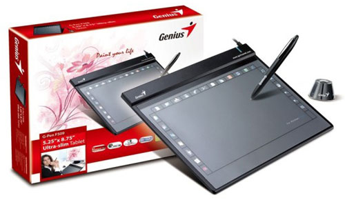Genius G-Pen F509 Graphic Tablet Comes to US