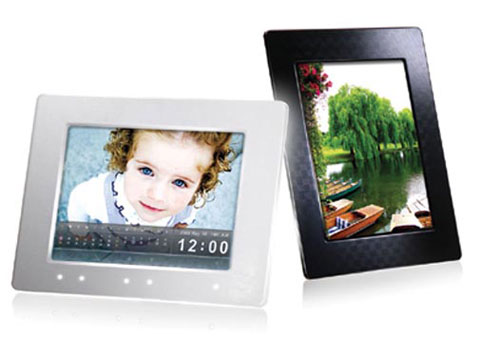8inch Touchscreen Digital Photo Frame From Transcend | Dandy Gadget