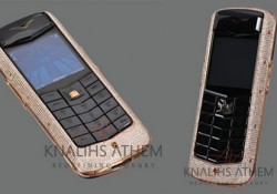 This Dandy Gadget: Despite the global economic crisis, luxury cell phones are sold very well. Therefore, various manufacturers continue to release elite models. One of the latest innovations is the Vertu Constellation Gold mobile phone in Diamond Edition by  KNALIHS ATHEM. Swiss jewelers replaced the original Vertu Constellation Gold on […]