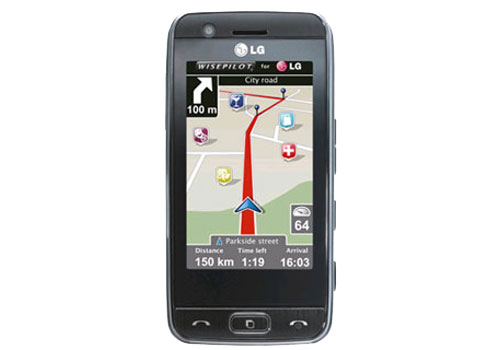 LG GT505 Social Phone With Integrated GPS | Dandy Gadget