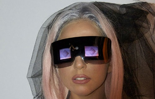 lady gaga polaroid glasses. The Camera Glasses, which look very pretty,