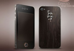 I had mentioned lady too much in my blog. But what should I do? this is for lady too, a new luxury iPhone 4 from Gresso, Gresso iPhone 4 Lady Black Diamond. Unlike Amosu, Gresso uses a rare material for the back cover, a 200-year-old African Blackwood. Wood color style […]