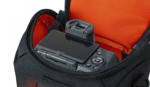 Sony LCS-AMB Soft Carrying A-mount DSLR Camera Case