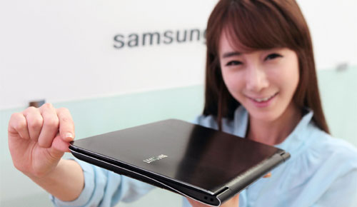 New Samsung SENS 9 Series Premium Thin Notebook, Smaller!