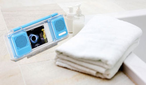 Green_House_GH_SPA210W_Waterproof_Mini_Speaker_Cute_Colors_Blue_Bathroom_Dandy_Gadget_Speakers