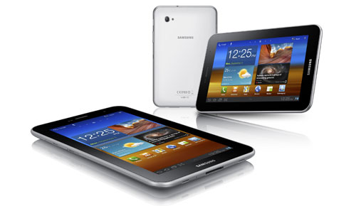 Samsung_Galaxy_Tab_7.0_Plus_Tablet_White_Front_Back_Top_Dandy_Gadget_Computers