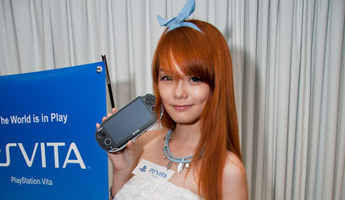 Sony_PS_Vita_Gaming_Console_Elegant_Black_Sexy_Teen_Chinese_Model_Pose_Dandy_Gadget_Gaming