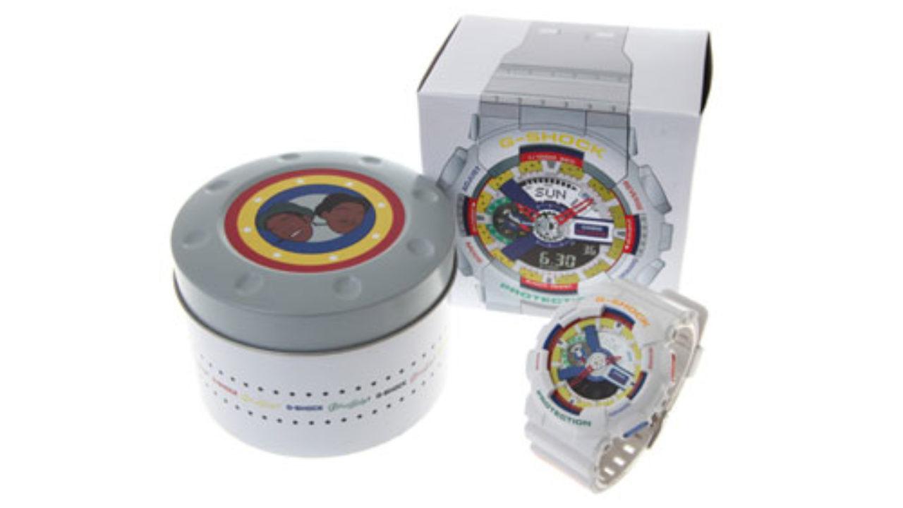 9a9a4fd99f81 Lego Art on Casio Timepiece! Casio G-Shock GA111DR-7A Limited ...