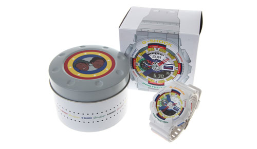 Lego Art on Casio Timepiece! Casio G-Shock GA111DR-7A Limited Edition Watch