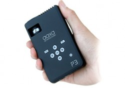 Honestly, this new AAXA pico projector, P3, is far away from being cute. It's not thin thing also, but still remain steadfast on its compact behavior, not longer than a pen (see on image). With that dimension, you could pocket this projector comfortably. Despite of its not-cute appearance, the P3...