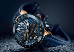 Do you have a plan to go to BaselWorld 2012? One word from me, be careful and watch out when you are there, because Ulysse Nardin Blue Toro Limited Edition watch will rampage with its aesthetic-timeless blue dial to every visitor without an exception. I don't kid you. This new […]