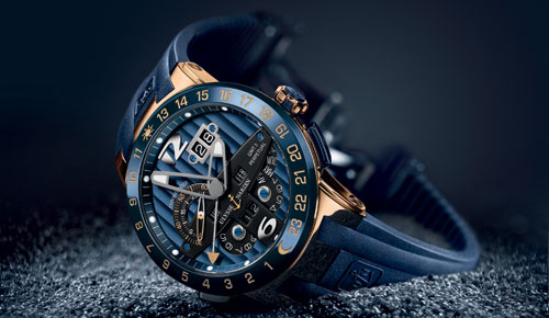 Watch Out! Ulysse Nardin Blue Toro Limited Edition Watch