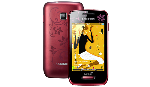 2012 Samsung La Fleur Smartphone Collection for Valentine Day