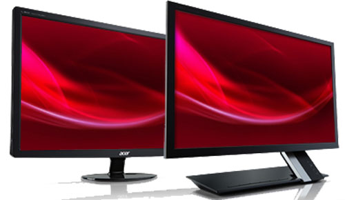 Acer_S235HL_bii_S271HL_bid_Ultra_Slim_Monitor_Elegant_Black_Front_Right_Sexy_Duo_Dandy_Gadget_Peripherals