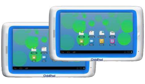 Archos_Child_Pad_Android_ICS_Tablet_Fun_Color_Front_Center_Sexy_Duo_Dandy_Gadget_Computers