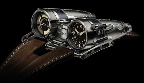 MB&F HM4 Razzle Dazzle and Double Trouble Will Make a Visit to the 2012 BaselWorld
