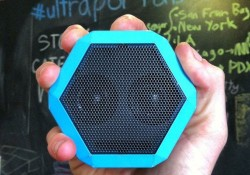 Judging from its image, Boombotix REX external speaker is designed in ultraportable size with cute hexagon appearance, like a little smiling alien's face that having big eyes (two speakers), that fits in the palm of your hand and pocket, easy for you to bring this thing from one place to […]