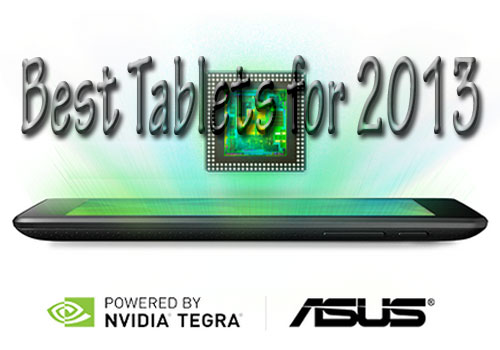 Best Tablets for 2013