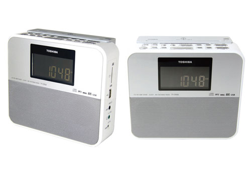 Toshiba TY-CR30 CD Clock Radio Player