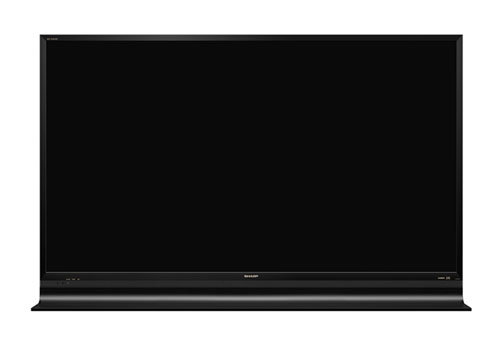 Sharp-ICC-PURIOS-LC-60HQ10-4k2k-LCD-TV-Elegant-Black-Front-Center-Dandy-Gadget-Home-Entertainments
