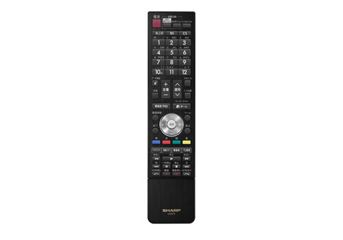 Sharp-ICC-PURIOS-LC-60HQ10-4k2k-LCD-TV-Elegant-Black-Remote-Control-Dandy-Gadget-Home-Entertainments