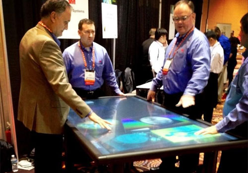 3M's 84-inch Multi-Touch Display [CES 2013]