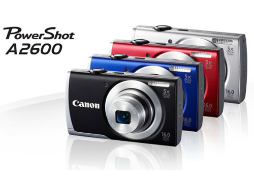 Canon PowerShot A2600 Compact Camera, It's the Powershot A1400 in Stylish Case!