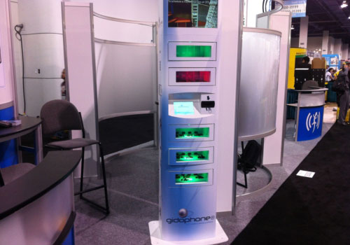 Gidophone-inductive-charging-tower-kiosk-ces-2013-dandy-gadget-technology