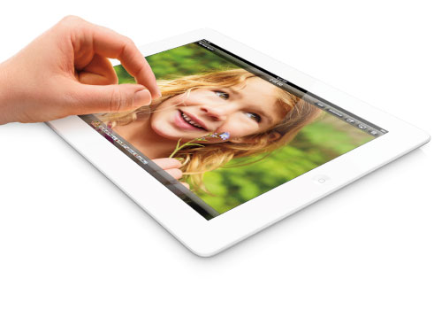 Apple iPad with Retina Display has pushed the capacity of its storage to 128GB!