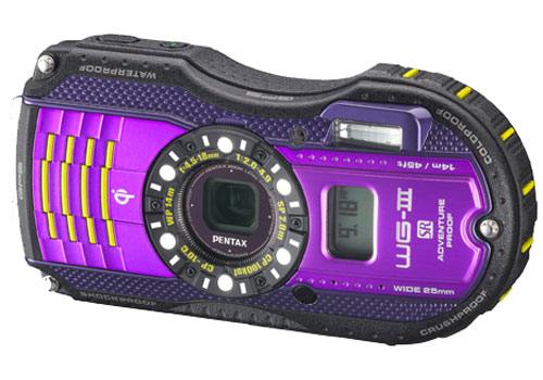 2013 Pentax rugged camera, WG-3 and WG-3 GPS are cool like always!