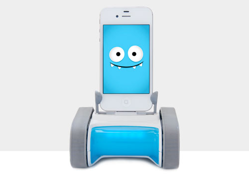 A moving docking station to fun your kids, Romo!