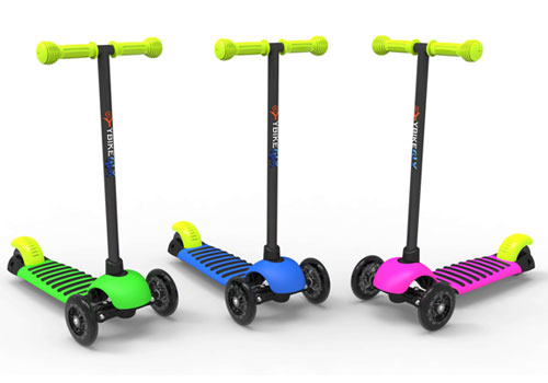 Looking Valentine gift for your kids? New YBIKE GLXs 3 wheeled scooter [AITF 2013]
