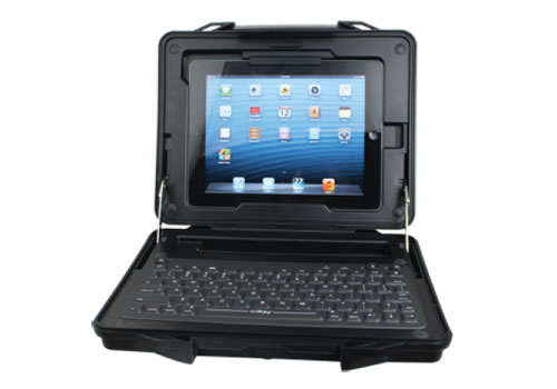 How to turn your iPad into a rugged laptop – iKey StreetCase [iWorld 2013]