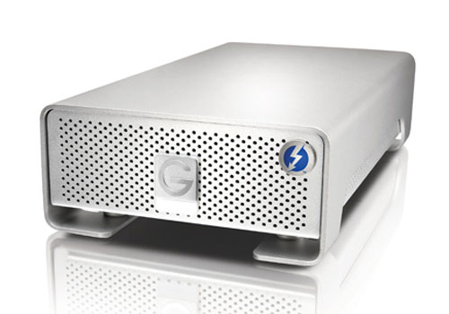 G-Technology G-Drive Pro with thunderbolt, an external HDD with SSD-like speed!